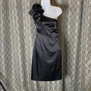 Jessica Simpson Rosette Shoulder Dress